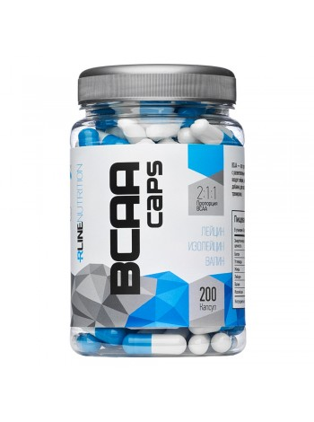 BCAA caps 200 капсул RLINE