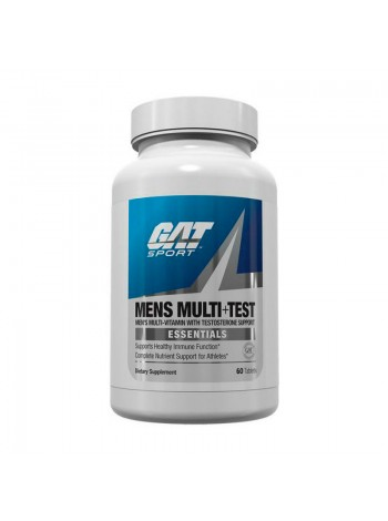 Витамины GAT Essentials Men's Multi+Test 60 таблеток