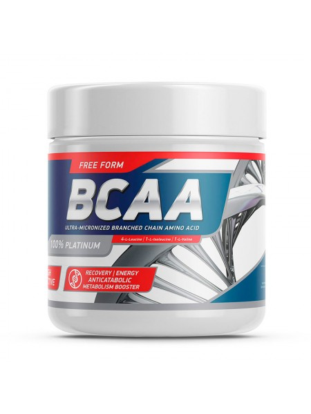 GeneticLab BCAA Powder Unflavored 200 г