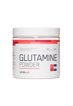 Аминокислоты LevelUp Glutamine Powder 240 г