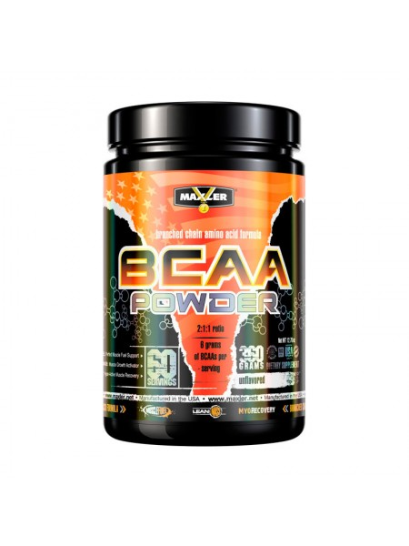 Maxler BCAA Powder 360 г (без вкуса)