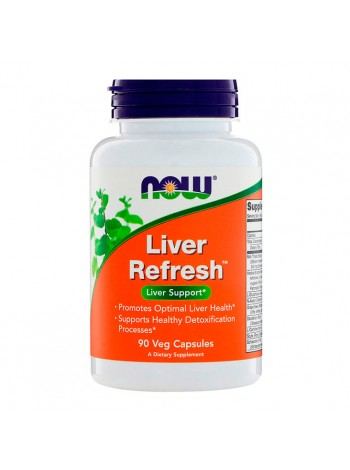 Витамины NOW Liver Refresh 90 капсул