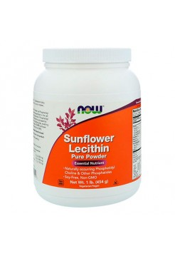 Аминокислоты NOW Sunflower Lecithin Powder 454 г