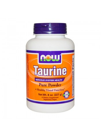 Аминокислоты NOW Taurine Powder 227 г