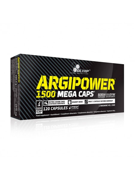 Аминокислоты Olimp Argi Power 120 капсул