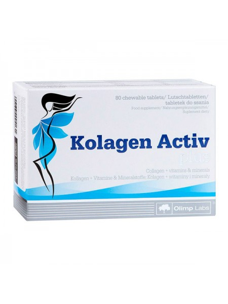Olimp Collagen Active Plus 80 таблеток