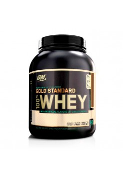 Протеин Optimum Gold Standard 100% Whey Naturally Flavored 2180 г