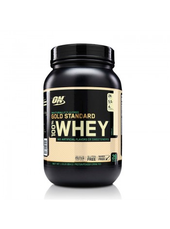 Протеин Optimum Gold Standard 100% Whey Naturally Flavored 860 г