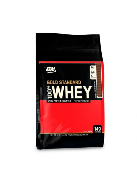 Протеин Optimum Gold Standard 100% Whey 4545 г
