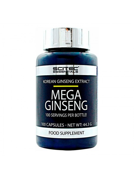 Scitec Ginseng 100 капсул