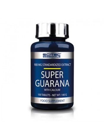Энергетик Scitec Super Guarana 100 таблеток