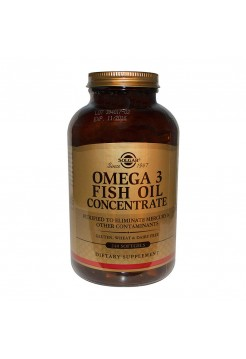 Жиры Solgar Omega-3 Fish Oil 240 капсул