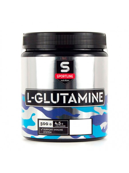 Аминокислоты SportLine L-Glutamine Powder 500 г