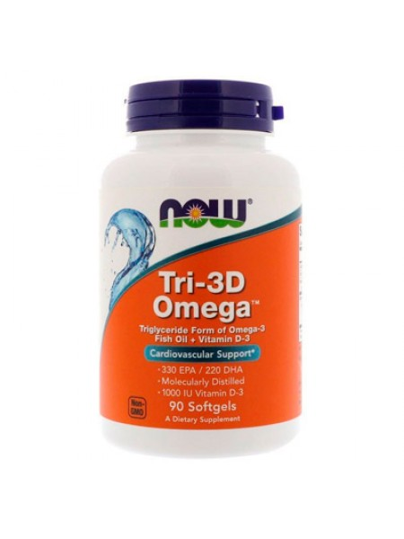 Ultimate Omega-3 1000 мг 90 гелевых капсул