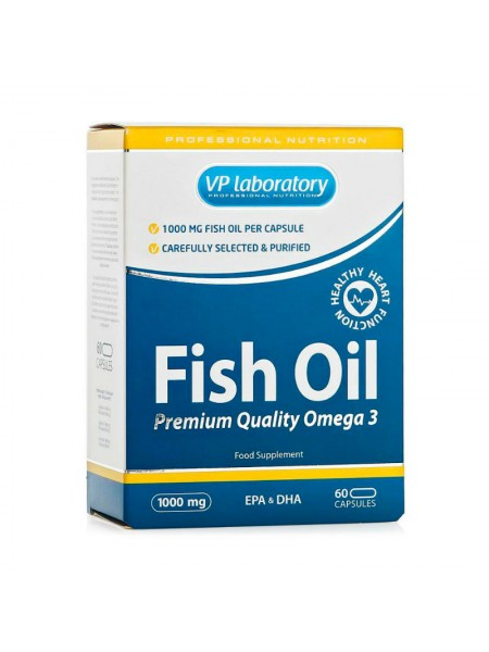 VPLab Fish Oil Omega-3 60 капсул